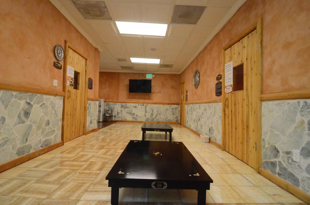 휴스파 식당